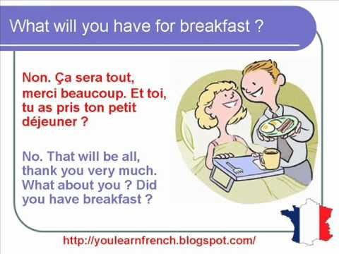 French Lesson 60 – Hotel room Booking Reservation on the ...