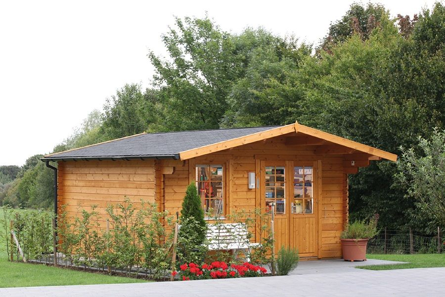 Wolff Gartenhaus Kim 44 B ISO | Saunas and Haus