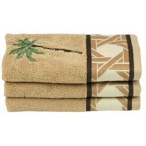 Better Homes And Gardens Palm Decorative Bath Towel Collection Hand Towels Palm And Towels