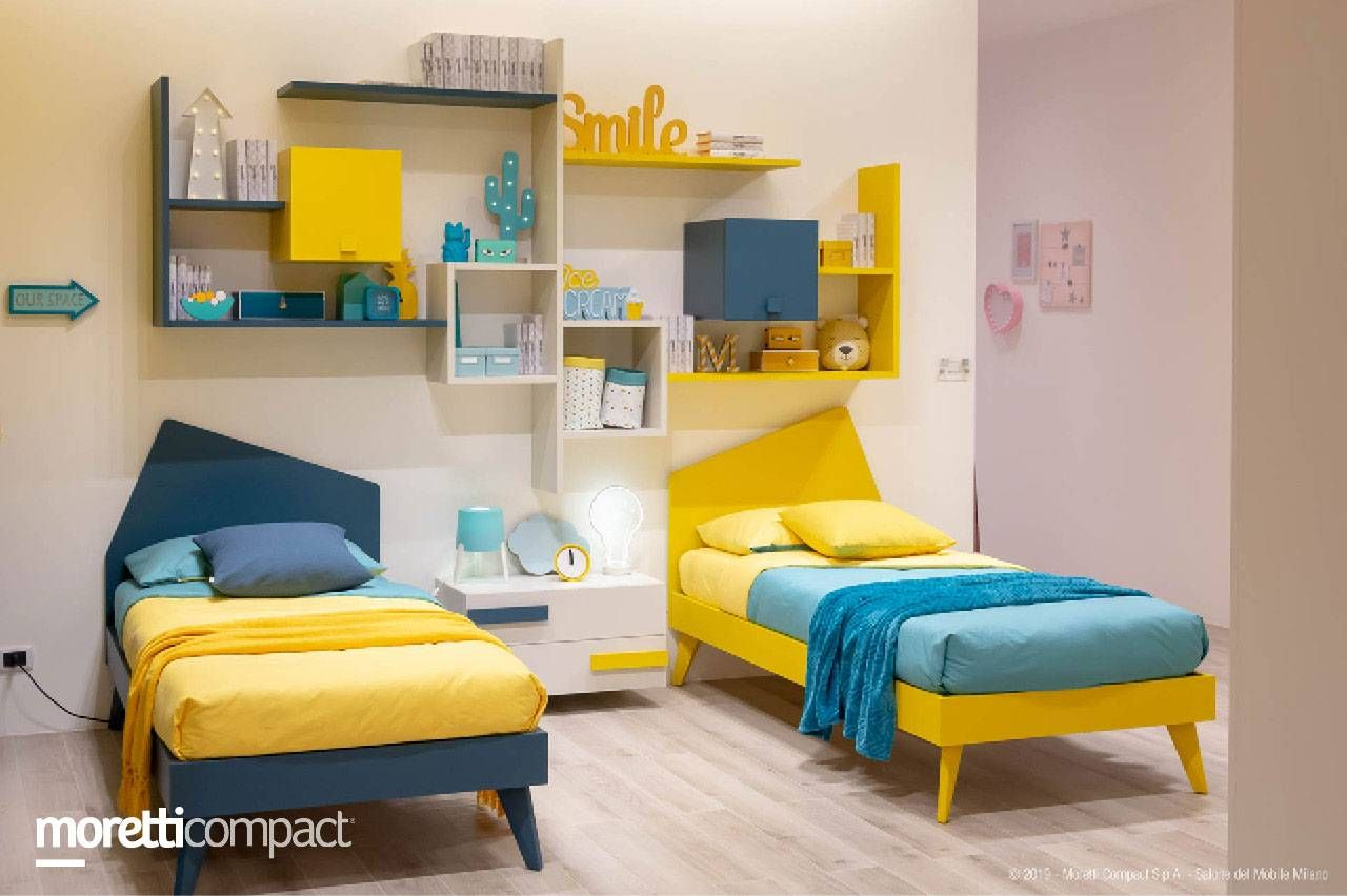 Camerette Moretti Compact Moretticompact In 2020 Toddler Bed