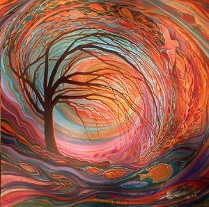 The winds of Change 2 | Painting art  projects, Fractal art, Energy art