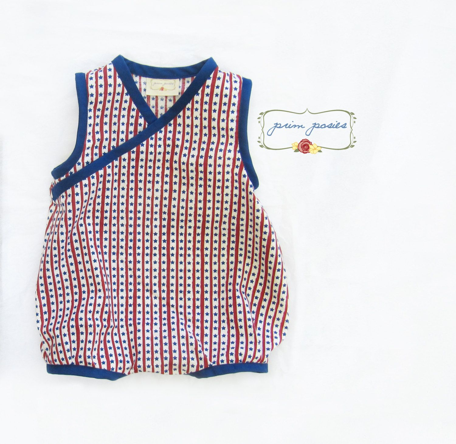 4th of July Outfit Baby Boy Romper Boy Baby Clothes July 4th