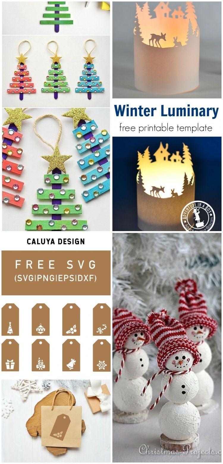 Bonhomme de neige pour Noël – Projets de Noël – #Christmas #Craft #forchristm …