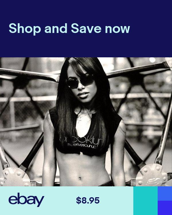 D5042 Aaliyah Dana Haughton BW R/&B Music Gigantic Print POSTER
