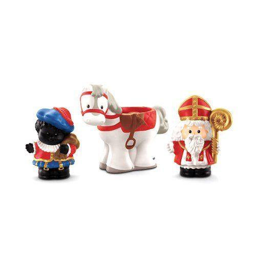 Little People - EXCLUSIV - Santa Claus / Sinterklaas + Helping Hand + Horse - for sweet Christmas decoration - Fisher Price by Fisher Price, http://www.amazon.co.uk/dp/B00G56FLUC/ref=cm_sw_r_pi_dp_ur2Isb1FX5VTW