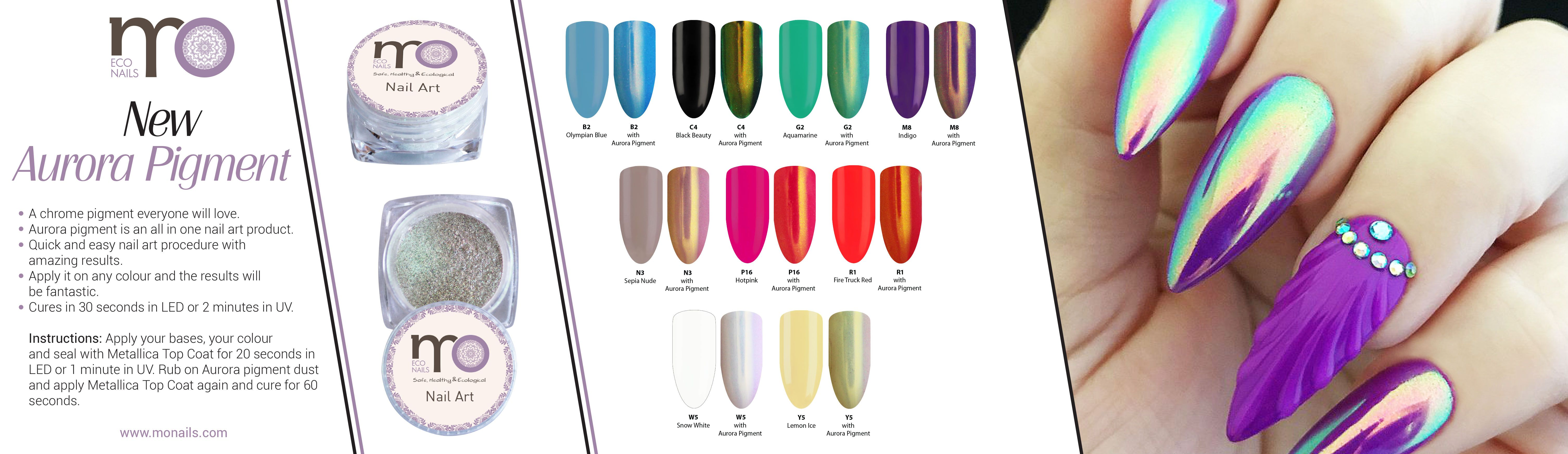 New In Store Aurora Pigment A Chrome Pigment Everyone Will Love