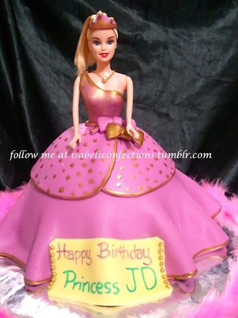 This Barbie Cake Design Is Inspired By The Barbie Princess Charm