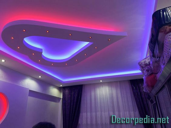 The Best 50 Gypsum Board Ceiling And False Ceiling Designs For All Rooms 2019 False Ceiling Design Ceiling Design Plaster Ceiling Design