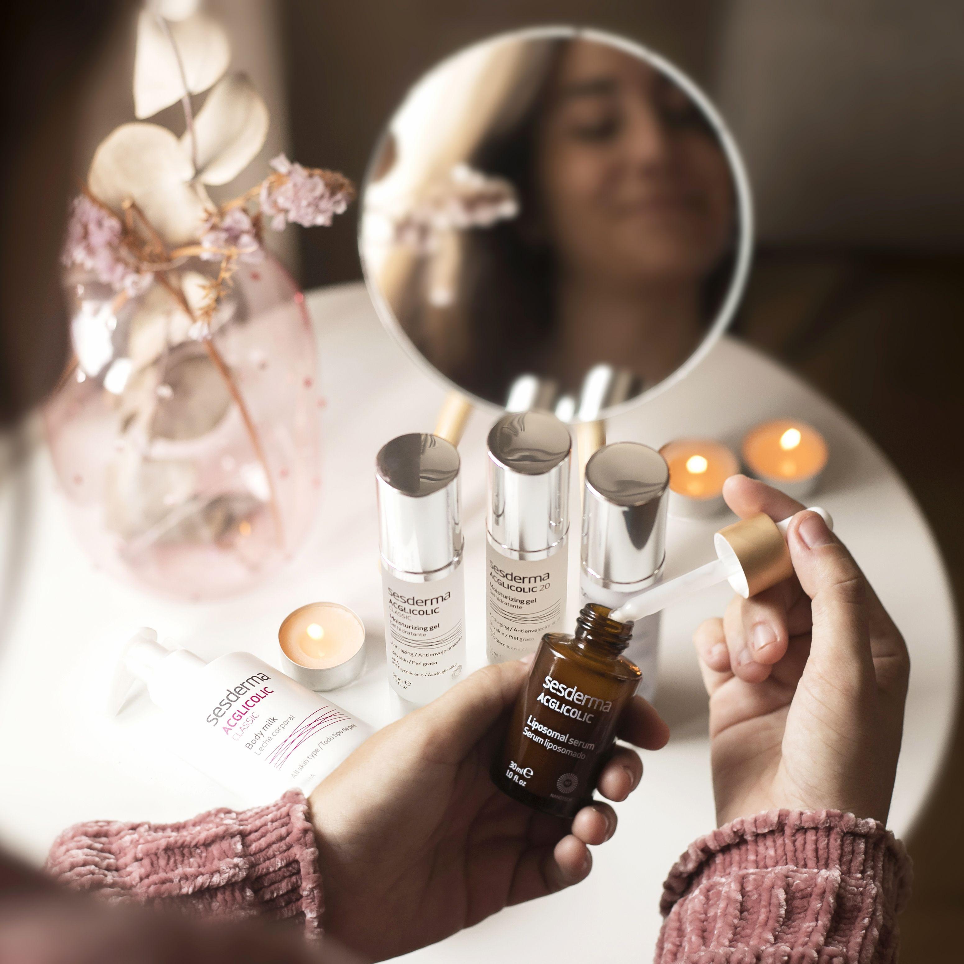 ACGLICOLIC | Sesderma, Marcas de acné, Crema corporal