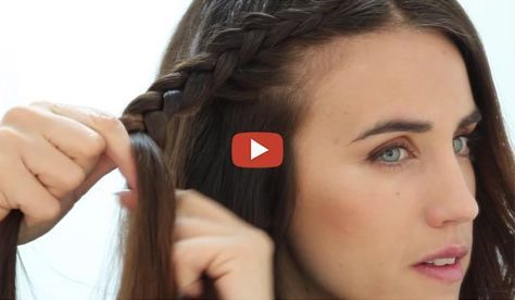 12 Tips For Braiding Your Own Hair Braiding Your Own Hair Hair Braid Guide Braided Hairstyles Easy