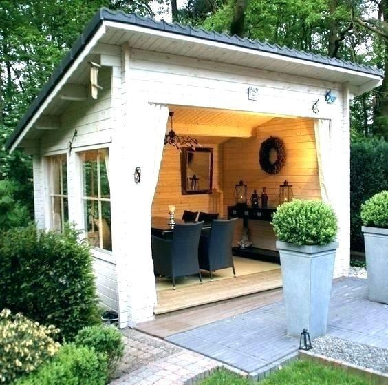 Backyard Cabana Bar Ideas For Best About Garden Houses On ...