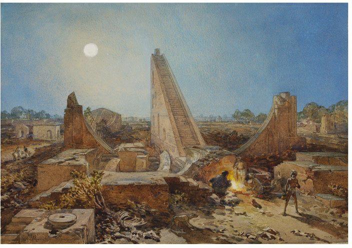 William Simpson Jantar Mantar Delhi
