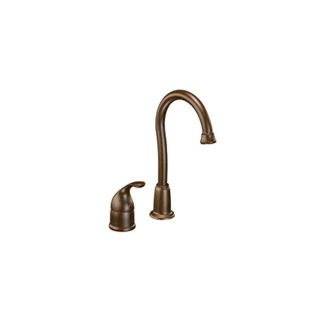 Moen 4905orb Camerist One Handle Bronze Bar Faucet