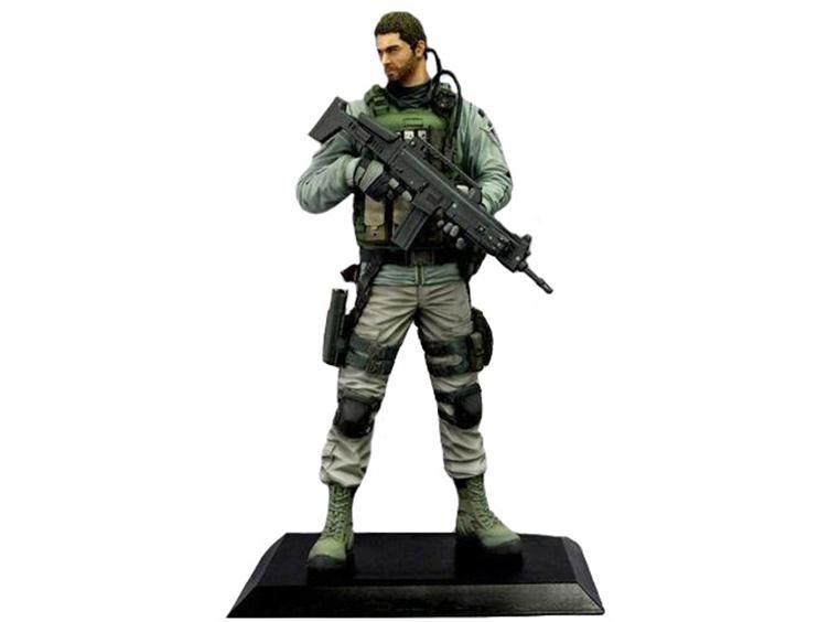 Resident Evil 6 Chris Redfield Figure Resident Evil Resident Evil 6