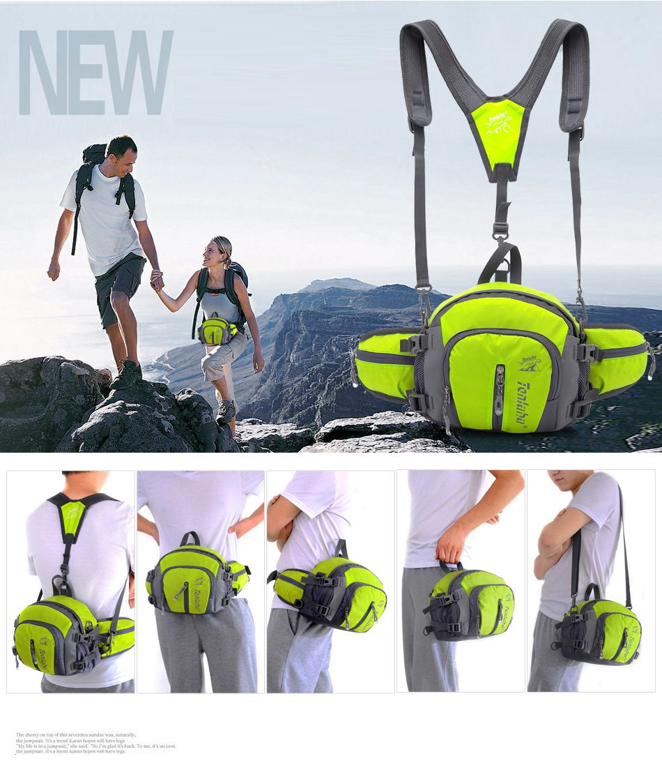 a634fa810cf3 Fashion Durable Unisex Outdoor Sport Gym Camping Hiking Bike Waist ...