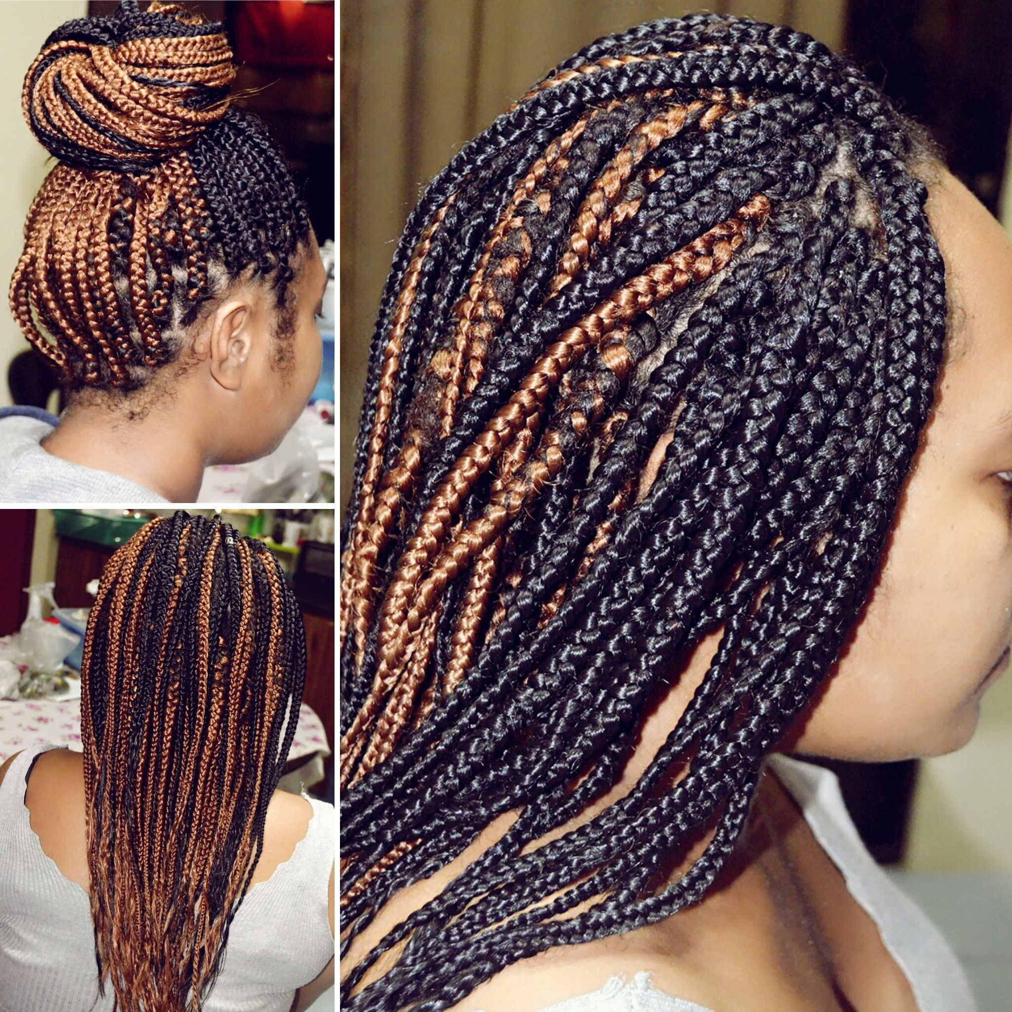 Itus a black and a golden summer outstanding braids by bruz