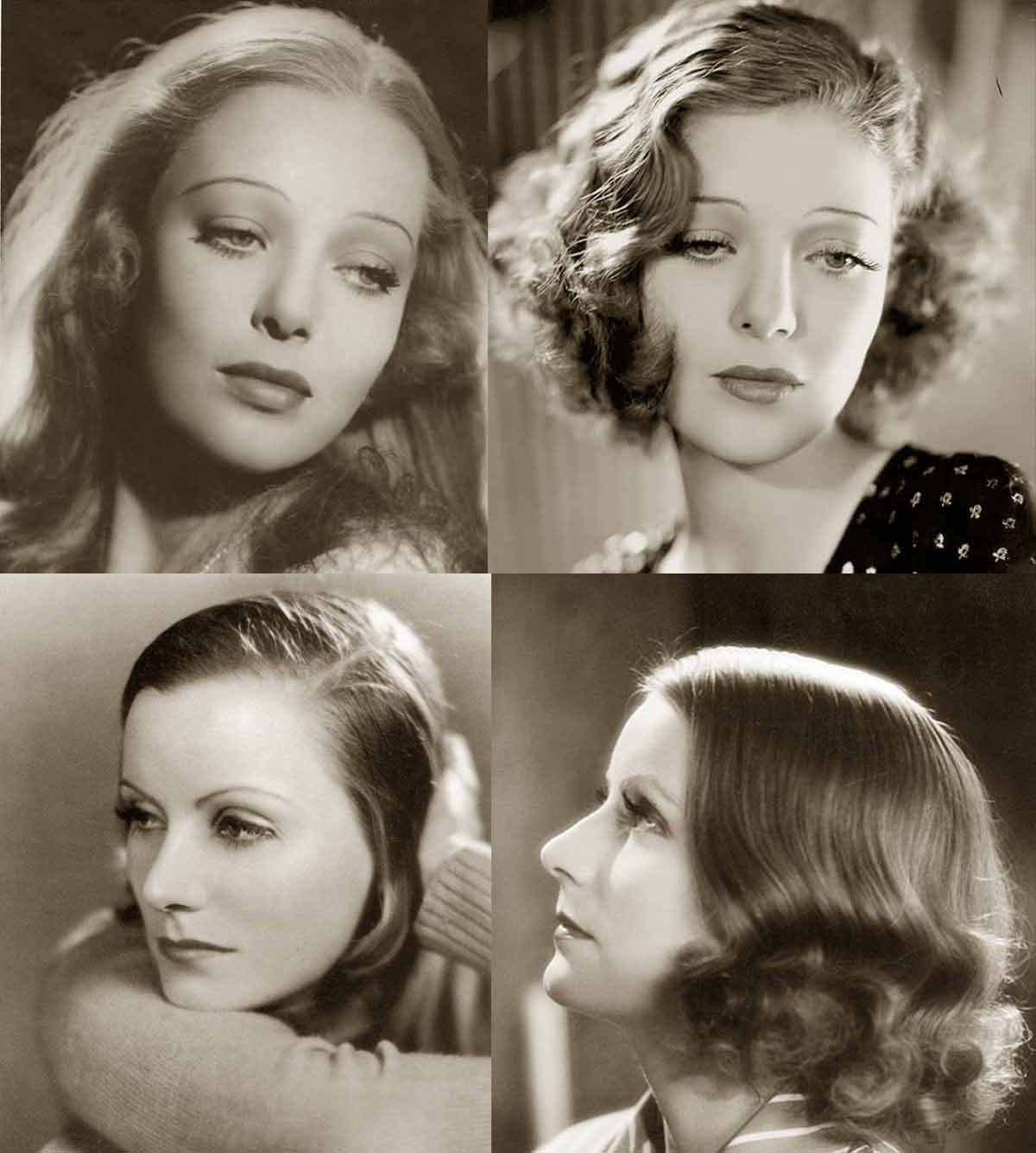 1930s Hairstyles Face Changes Vintage Hairstyles 1930s Hair 30s Hairstyles