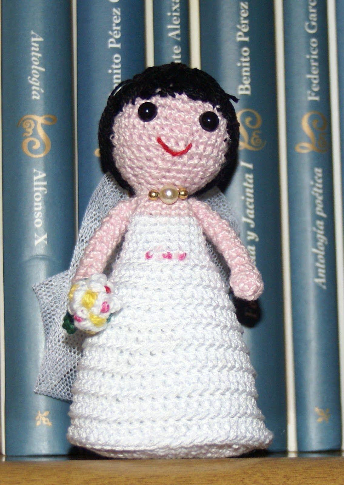 La novia amigurumi - Crochet amigurumi bride pattern   ♥ Amigurumi ...