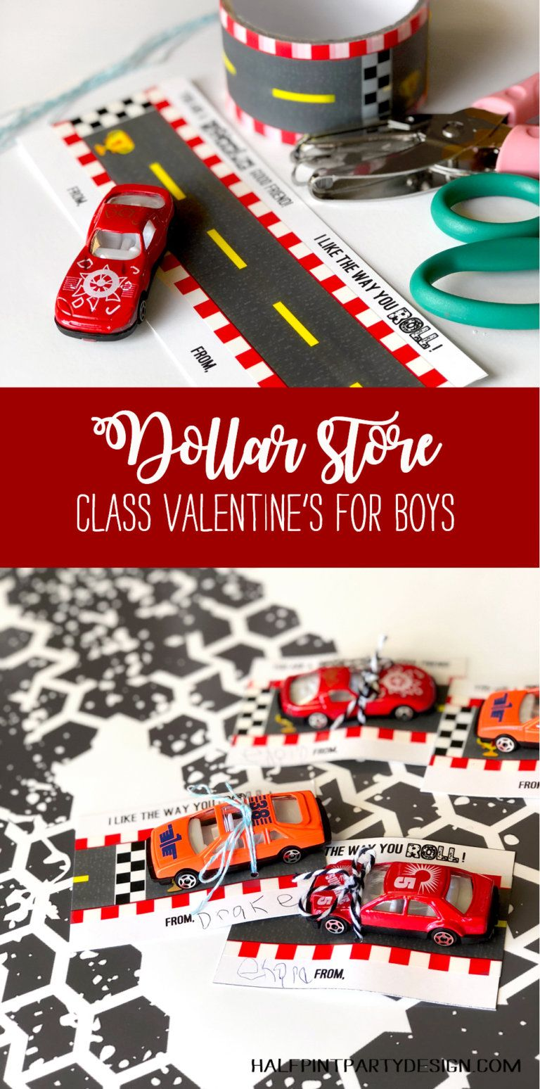 Awesome car valentine printable valentine gifts for kids