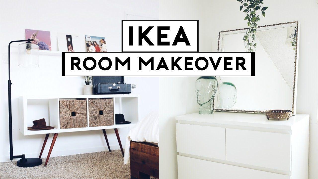 EXTREME BEDROOM MAKEOVER + TRANSFORMATION! IKEA HACKS 10