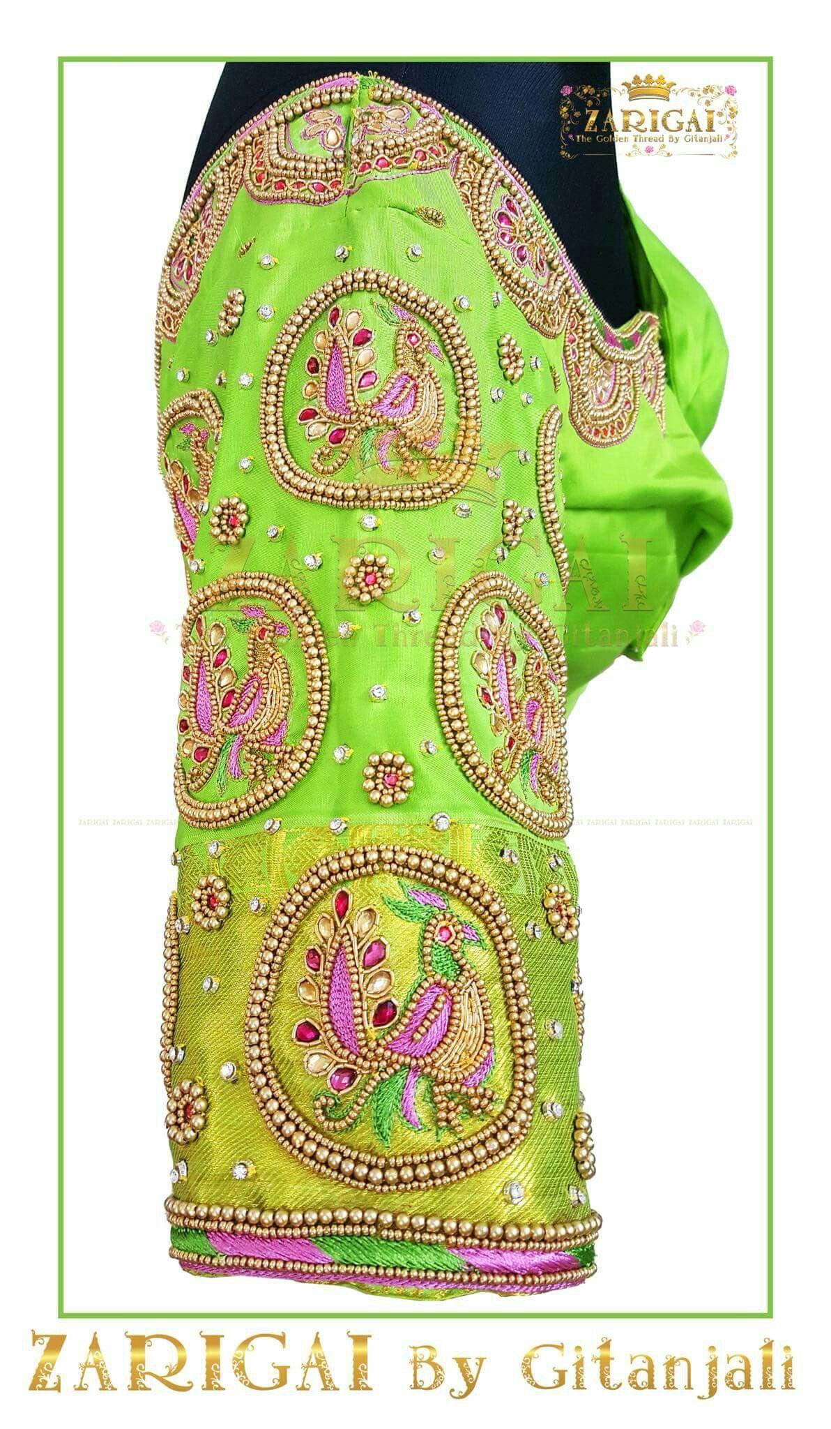 Silk saree blouse designs without embroidery pin by jayashakthi saravanan on blouse designs  pinterest  blouse