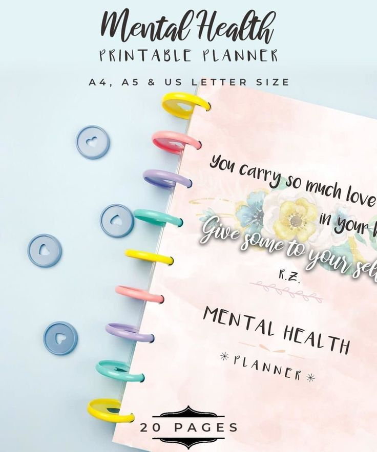Taking care of our Mental Health is just as important as taking care of our physical health. Now you can improve your mental health and battle mental illness every day with the help of this mental health planner. This comes with 20 carefully designed pages that are not only chic and stylish but each page is also crafted to help you stay on top of your mental health and work towards a healthier you!
