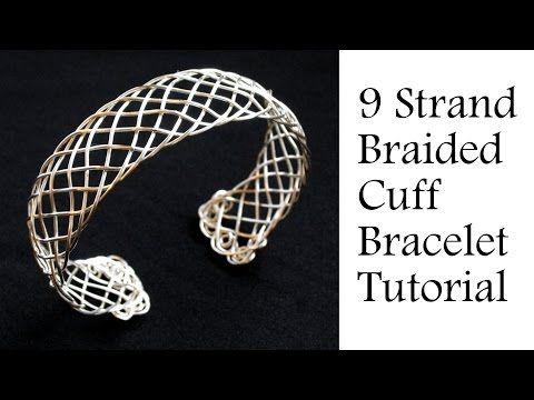 Jewelry Tutorial : 9 Strand \