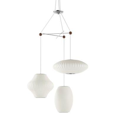 House  sc 1 st  Pinterest & Nelson Triple Bubble Lamp Fixture | Nelson bubble lamp Cabin and ... azcodes.com