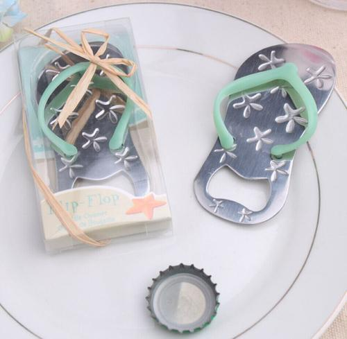 28cef37c9f5a The Starfish Flip-flop Bottle Opener is a great party favor for a beach  wedding