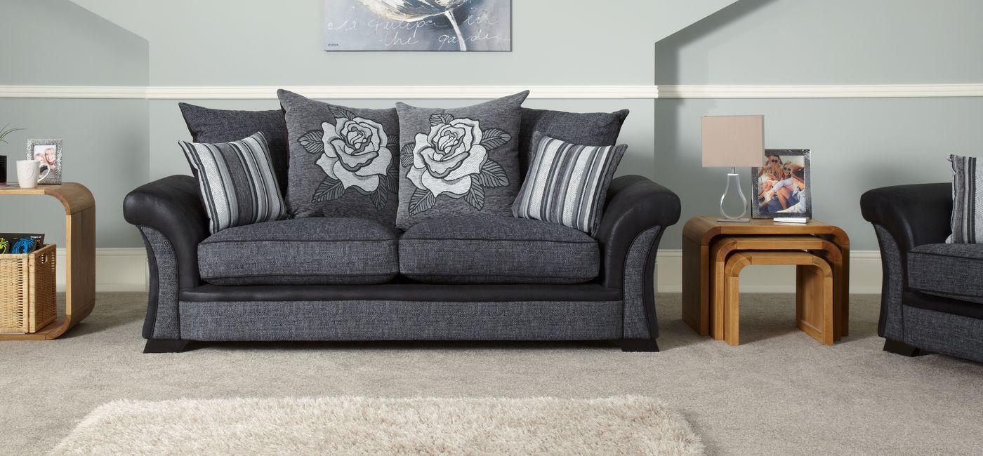 Reclining Sofa Piper Seater Sofa Scatter Back