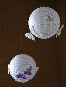 Butterfly Wedding Theme Ideas Purple Butterflies On Our White