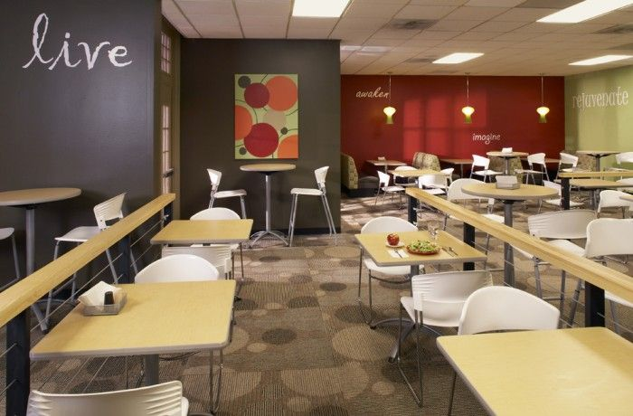 Baylor University Dining Hall Cafe Interior Design University