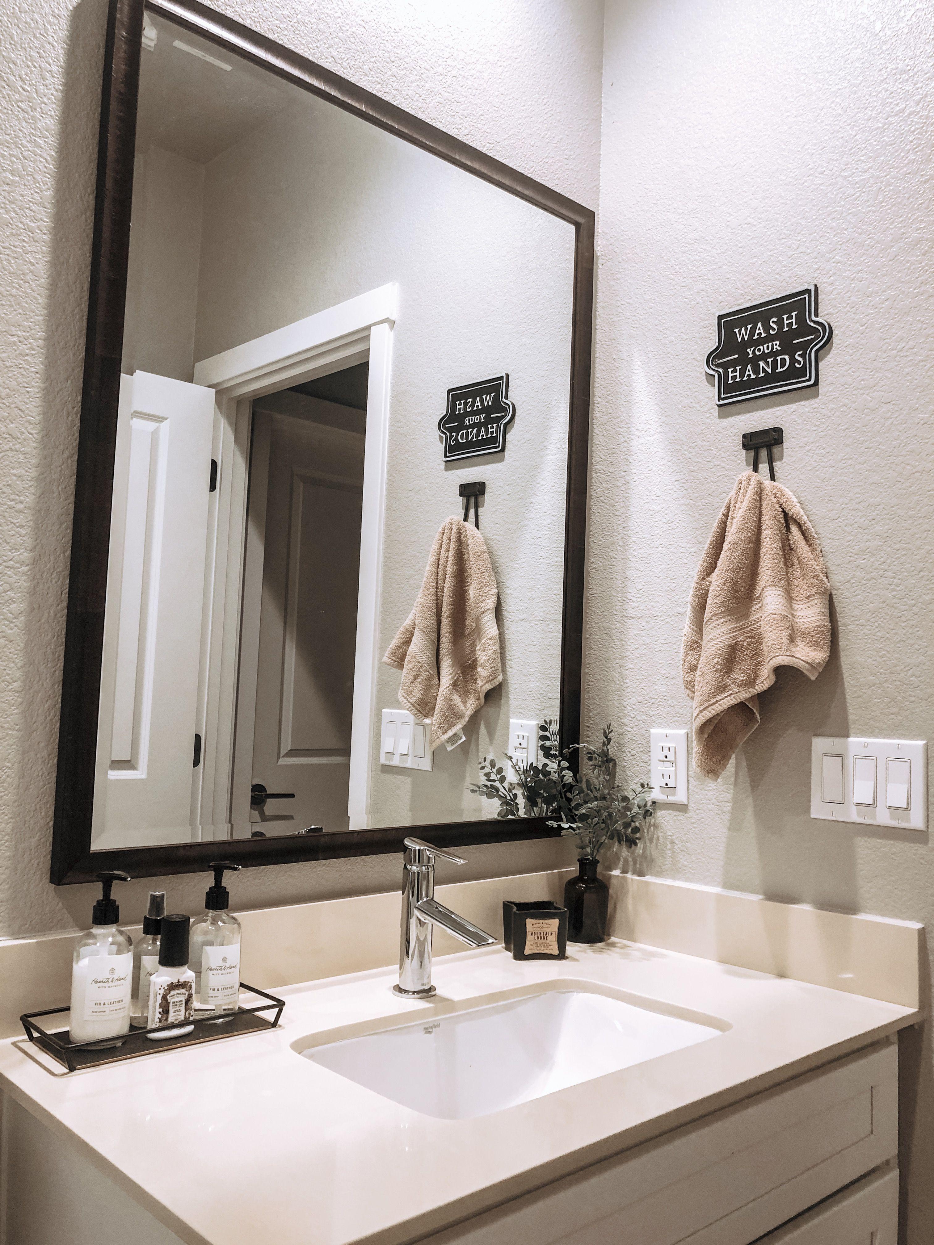 Magnolia Home Bathroom  Industrial bathroom decor, Bathroom decor