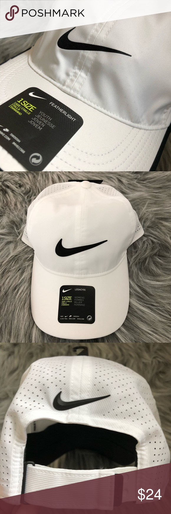 d004ba5df NIKE Women's AeroBill Legacy 91 Perforated Cap New with tag Style ...