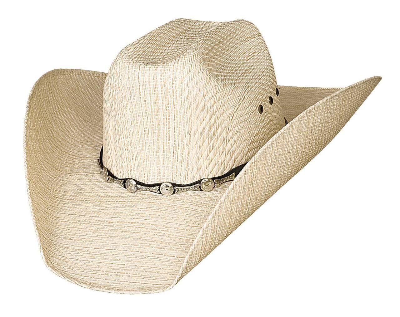 ac3ccbe1ebb62 Justin Moore Montecarlo Bullhide Backwoods 50X Straw Western Cowboy Hat Nwt