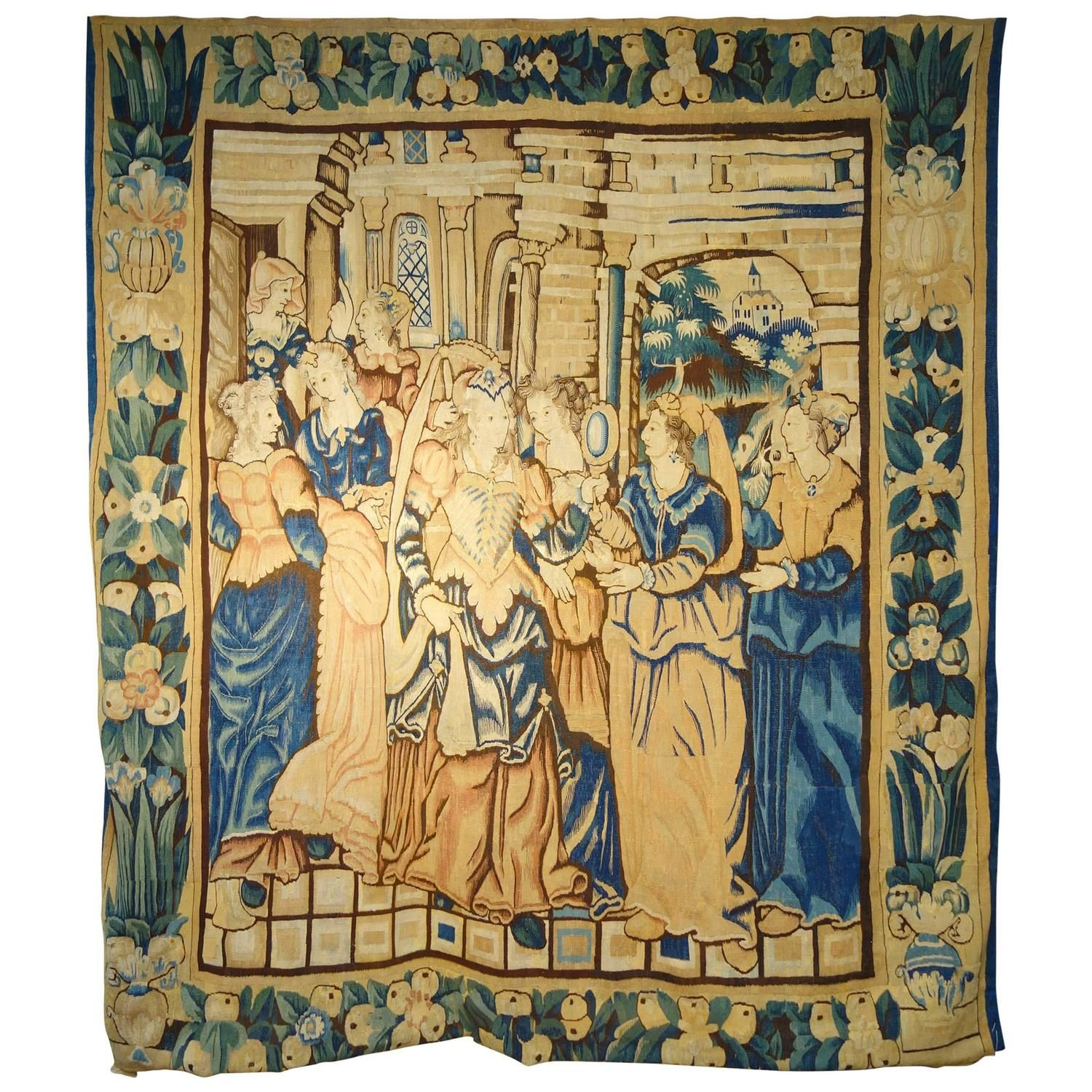 17th Century Franco Flemish Tapestry | Modern, 17th century and ...