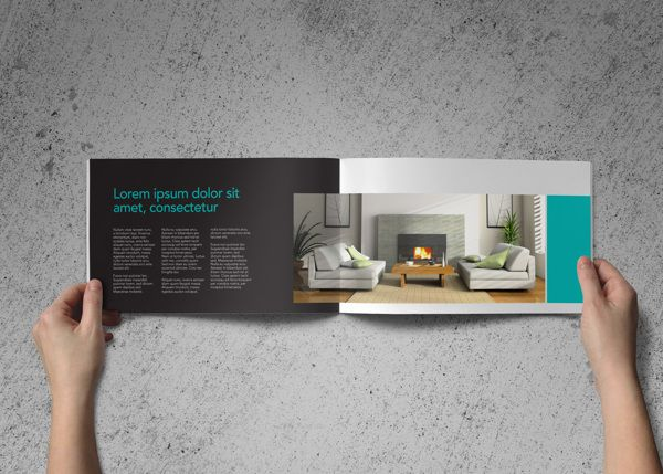 Company Profile Brochure Interior Design By Kiran Qureshi Via