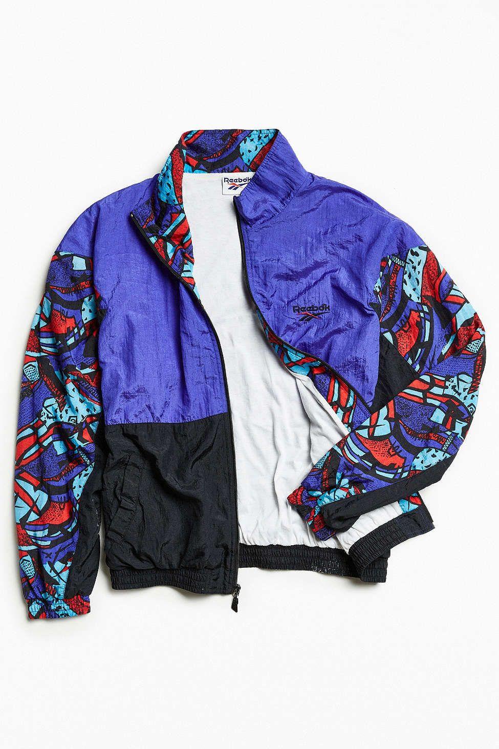 b42a777f8d3a Vintage Reebok Windbreaker Jacket