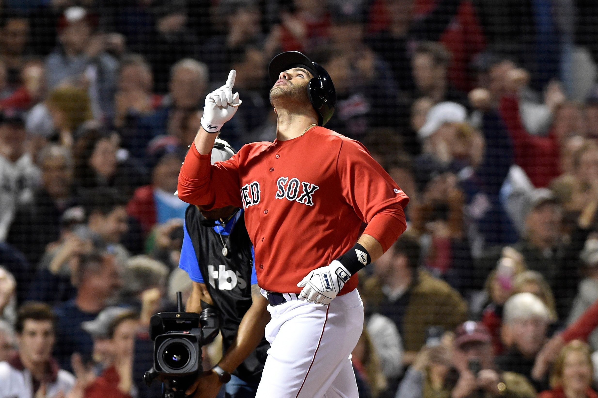 Red Sox Draw First Blood Hang On For 5 4 Alds Game 1 Win Over Yankees First Blood Designated Hitter Sports