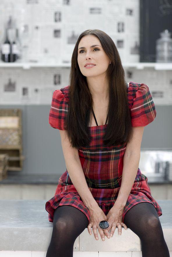 Sharon den Adel (lead singer of Within Temptation). gorgeous dress.