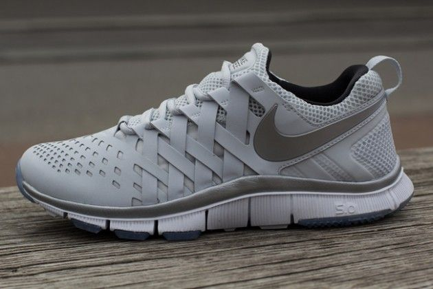 Nike Free Trainer 5.0 Pure Platinum Reflective Silver