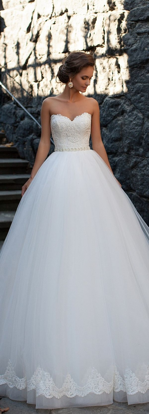 milla nova 2016 bridal wedding dresses / http://www.deerpearlflowers ...