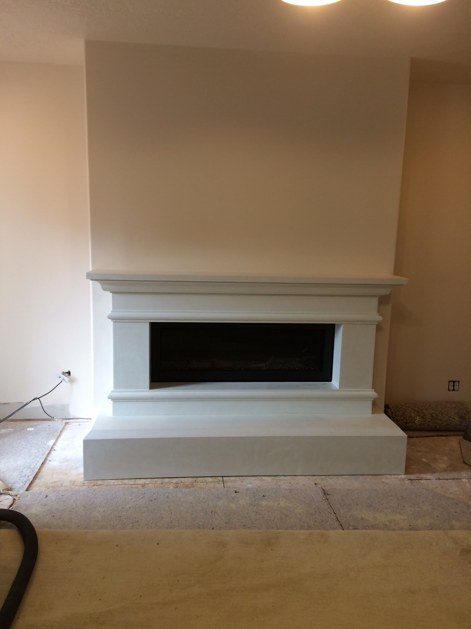 Traditional Style Mantel For Linear Fireplace Insert Stonemountaincastingsfavs Linear Fireplace Build A