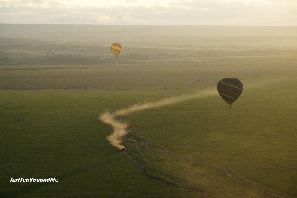 Kenya Africa Hot Balloon Ride Click to see write up on our week on safari Masai Mara