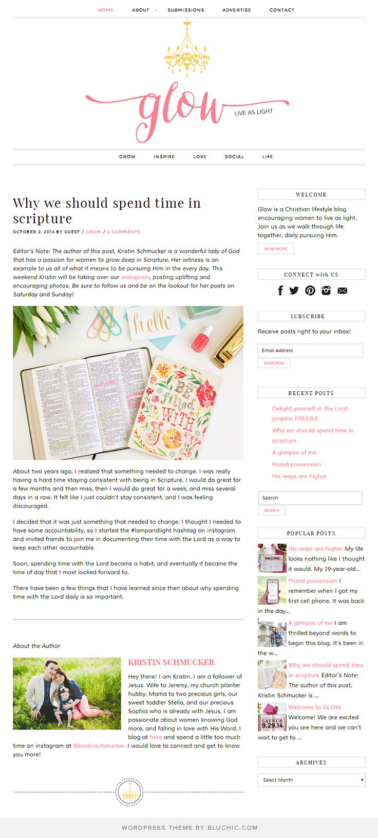 Themes Showcase & reviews | Blog designs, Wordpress and Template