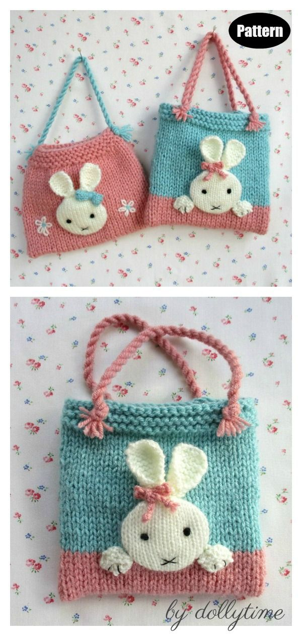 Photo of Bunny Bag Knitting Patterns