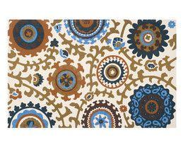 Handgewebter Teppich Frederico