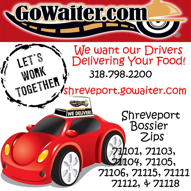 We Want More Restaurants On Our Menu Help Us Spread The Word Have Them Contact Gowaiter Shreveport Provides Room Service Takeout Catering