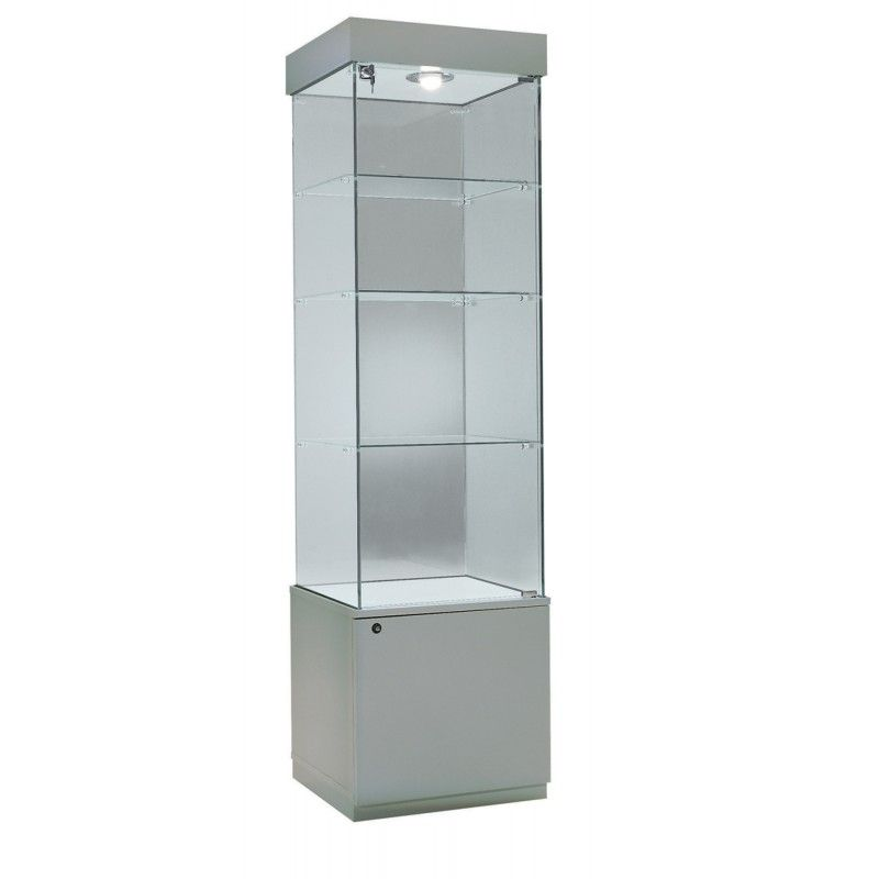 Vitrina de melamina con vidrio muebles para negocio - Vitrinas para colgar ...