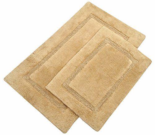 treewool bathroom rug 2 piece set arena accent 100 pure cotton rh pinterest com